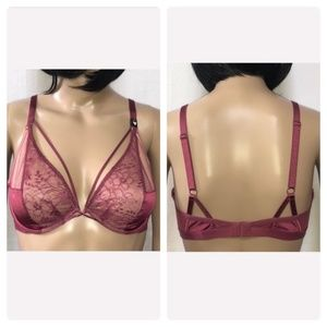LAST TWO! New VS Very Sexy Unlined Plunge Bra